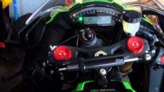 10. 2013 Kawasaki ZX10R Start Up