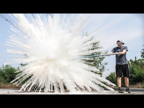 ระเบิดดับเพลิงในสโลโมชั่น!!