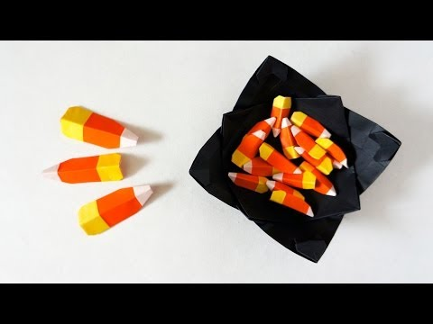Halloween Tutorial - 009 -- Candy Corn