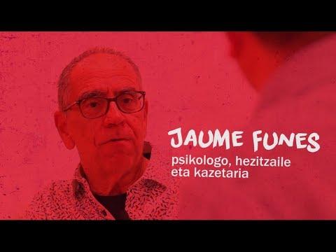 ELKARRIZKETA | Jaume Funes: psikologo, hezitzaile eta kazetaria