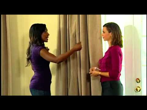 Video for Sangria 42-Inch x 108-Inch Room-Darkening Backtab Window Curtain Panel