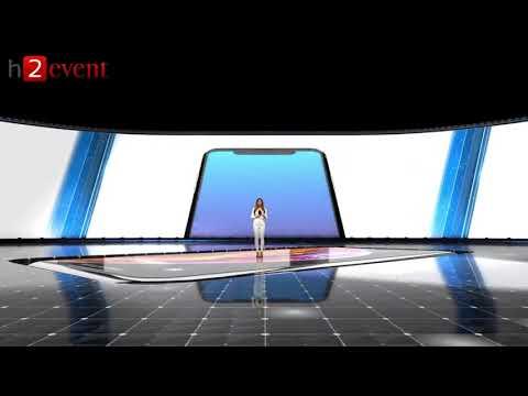 H2event - Presentazione 3D di auto e prodotto tecnologico