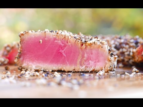 Tuna Steak Recipe - Best Way To Grill