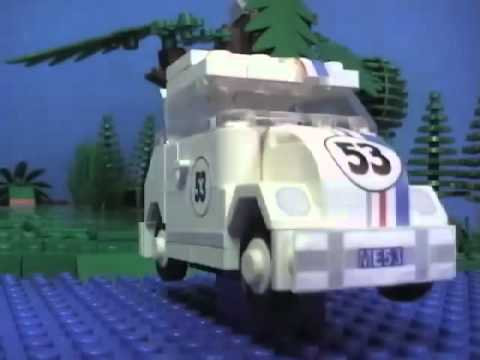 Herbie The Love Bug In LEGO