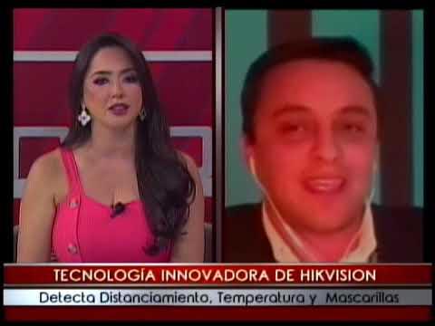 Tecnología innovadora de Hikvision detecta distanciamiento, temperatura y mascarillas