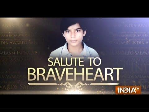 """India TV Special: """"Salaam India Awards 2014""""- Late Aryan Kumar Shukla 25 October 2014 11 PM"""