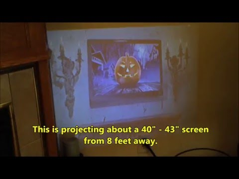 LZ-H80 Projector Review & Projector Info Rant (видео)