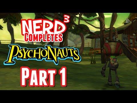 Nerd³ Completes... Psychonauts - Part 1