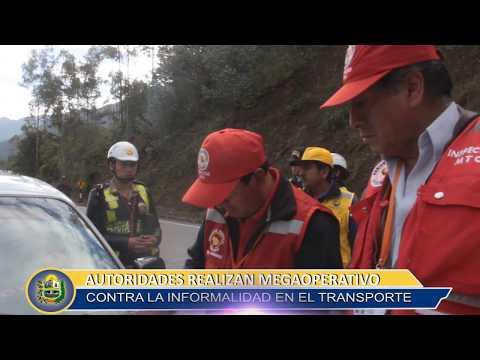 AUTORIDADES REALIZAN MEGA OPERATIVO CONTRA LA INFORMALIDAD EN EL TRANSPORTE
