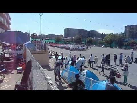 土気南小学校平成27年度の運動会:校歌斉唱