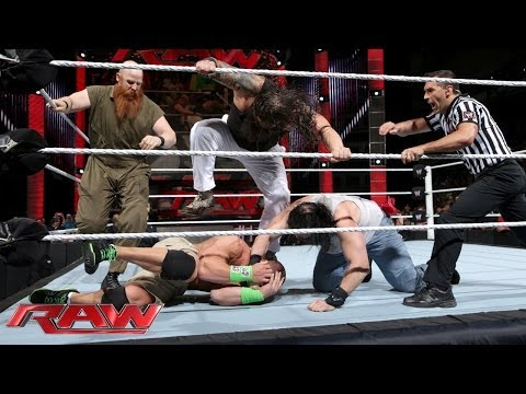 Family - John Cena must face all three members of The Wyatt Family in the main event of Raw. Click here for WWE Network: http://www.wwe.com/wwenetwork.