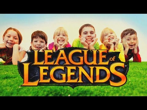 DZIECI W LEAGUE OF LEGENDS (видео)
