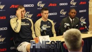 George Washington Men's Basketball Media Day