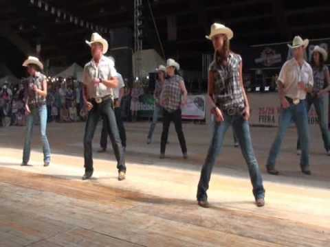 West Party line dance – WILD COUNTRY – Voghera Country Festival 2010