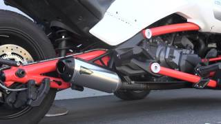 9. Two Brothers Racing - 2015 Can-Am Spyder F3 S1R Slip-on Exhaust