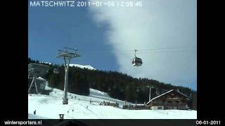 Montafon Golm webcam time lapse 2010-2011
