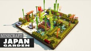 I Made a JAPANESE GARDEN! - Minecraft Oriental Garden Tutorial •
