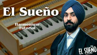 Download Lagu Diljit Dosanjh - El Sueno ft. Tru Skool Harmonium Tutorial Mp3