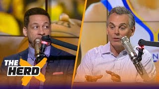 Video Chris Broussard on what's next for LeBron, the Warriors losing without Curry and more | THE HERD MP3, 3GP, MP4, WEBM, AVI, FLV Maret 2018