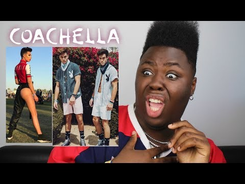 ROASTING YOUTUBERS COACHELLA OUTFITS (i may regret this...)