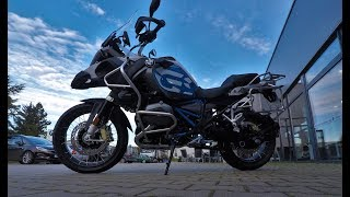 10. 2018 BMW R1200 GSA at Motorrad Weihe
