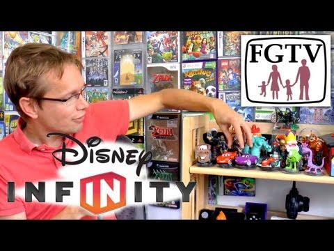 Disney Infinity Full Review  – Starter Pack and All Wave 1 Toys
