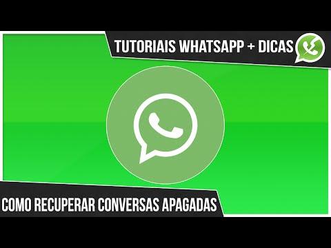 [TUTORIAL] Como recuperar conversas apagadas no WhatsApp - Recuperar mensagens deletadas do WhatsApp
