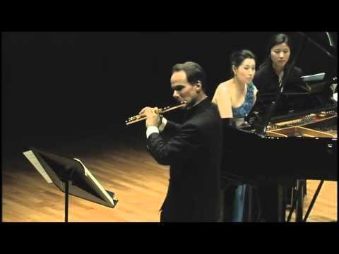 J. Mouquet: La flute de Pan. III. Pan et les nymphes (Mathieu Dufour, flute) (видео)