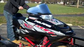8. 2005 Polaris 600 XC/SP snowmobile for sale