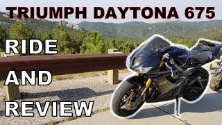 9. Triumph Daytona 675 - A Rider's Review
