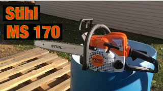 10. Stihl Ms170. Great little saw.