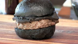 BK's Kuro Burger Recipe! (Black Cheeseburger!)