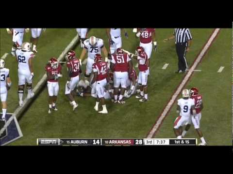Michael Dyer vs Arkansas 2011 video.