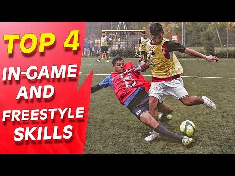 IN - Learn Amazing Football Skill Tutorial: The 4 Best Street Football, Futsal & Freestyle Skills & Tricks Tutorial. Players like Cristiano Ronaldo, Neymar, Ronaldinho & Sean Garnier are doing these...