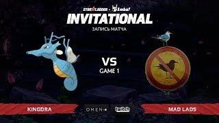 Kingdra vs Mad Lads, Первая Карта, SL Imbatv Invitational S5 Qualifier