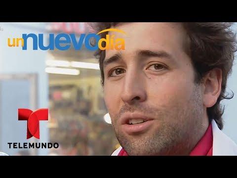 """Notícias dos famosos - Fanáticos chilenos llegan a Rusia para apoyar a """"La Roja""""  Un Nuevo Día  Telemundo"""