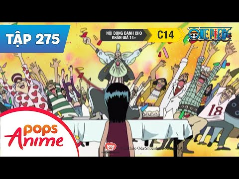 One Piece Tập 275 - Quá Khứ Của Robin! Con Gái Của Quỷ Dữ - Phim Hoạt Hình Đảo Hải Tặc - Thời lượng: 27:08.