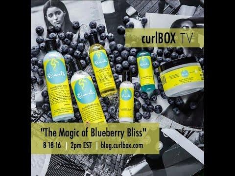 curlbox TV: the magic of curls blueberry bliss