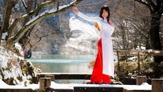 Ao Dai & Kimono Winter Photo Session 2016