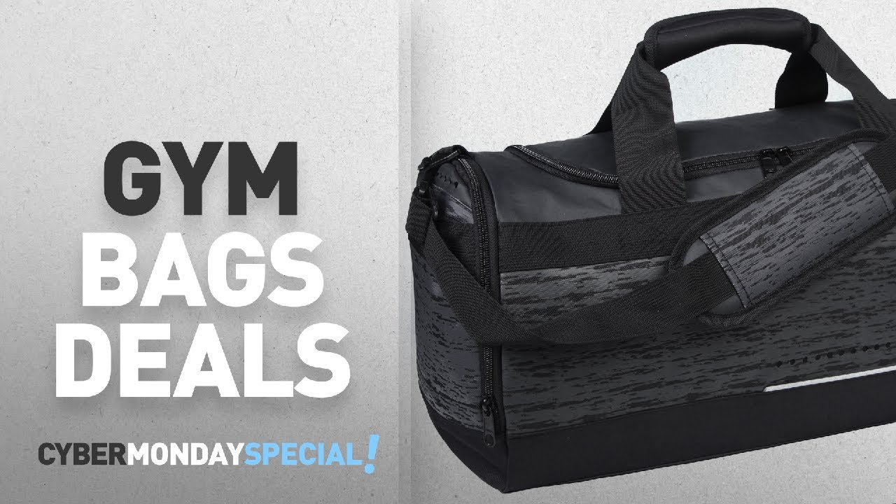 Cyber Monday Week | Gym Bags Deals: MIER Mens Holdall Gym Bag Sports Duffel Bag with Shoes