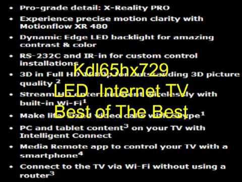 Kdl65hx729 Review - Sony Kdl65hx729 LED Internet TV