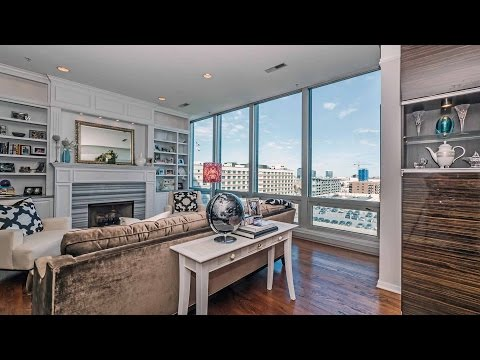 A highly-upgraded River North 3-bedroom condo