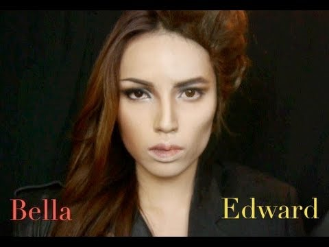 make - Twilight Tutorial Specially Dedicated to all my Twilight Fans !!! Hope you like this Two Faced Edward and Bella look which was Inspired by this poster : http...