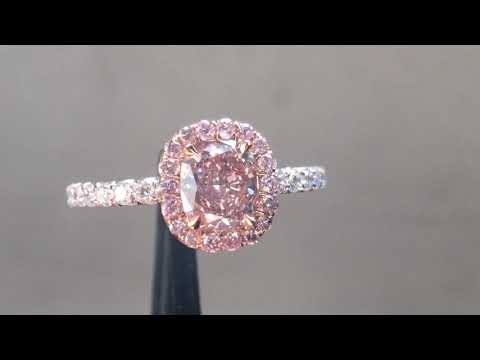.75ct Pink Diamond Ring R7124