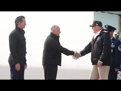 Καλιφόρνια: Επίσκεψη Τραμπ στους πυρόπληκτους
