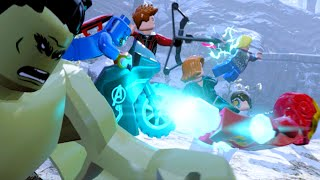 """Lego Marvels Avengers Assault on Strucker's Castle Scene """"Avengers Age of Ultron"""""""