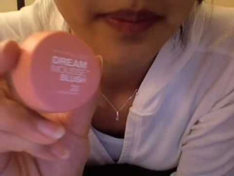 comment appliquer dream mousse blush