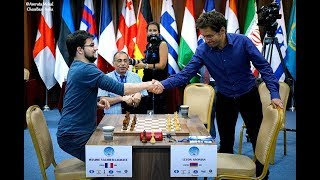 Final Moments of Aronian beating MVL in Armageddon