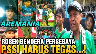 Download Video Andie Peci Pentolan Bonek GERAM Aremania Robek Bendera Persebaya MP3 3GP MP4