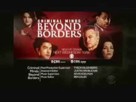 Criminal Minds: Beyond Borders 1.08 (Preview)